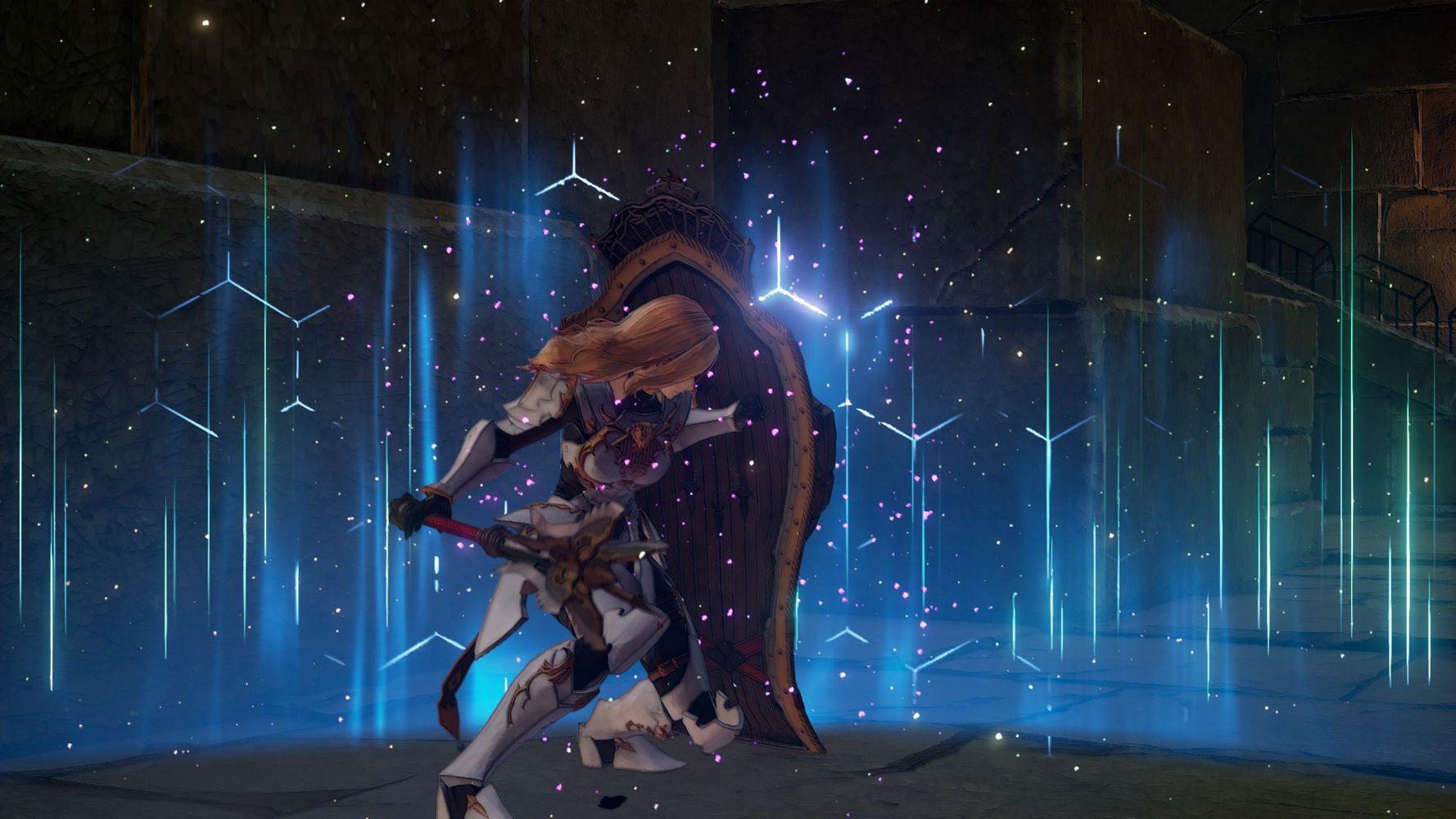 La potenza dello scudo di Kisara in TALES of ARISE
