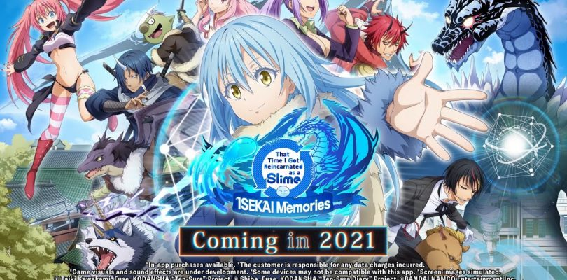 That Time I Got Reincarnated as a Slime: ISEKAI Memories annunciato per l'Occidente