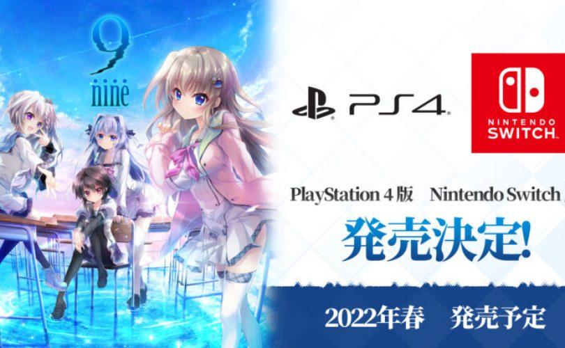 La mystery visual novel 9-nine- arriverà in Giappone anche su PS4 e Switch