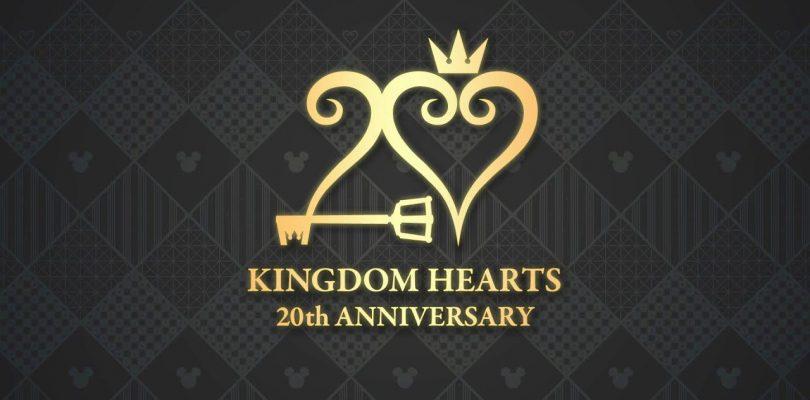 KINGDOM HEARTS 20° anniversario