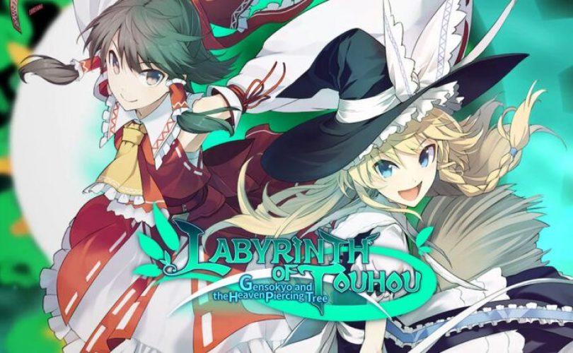 Labyrinth of Touhou: Gensokyo è disponibile su PC in inglese