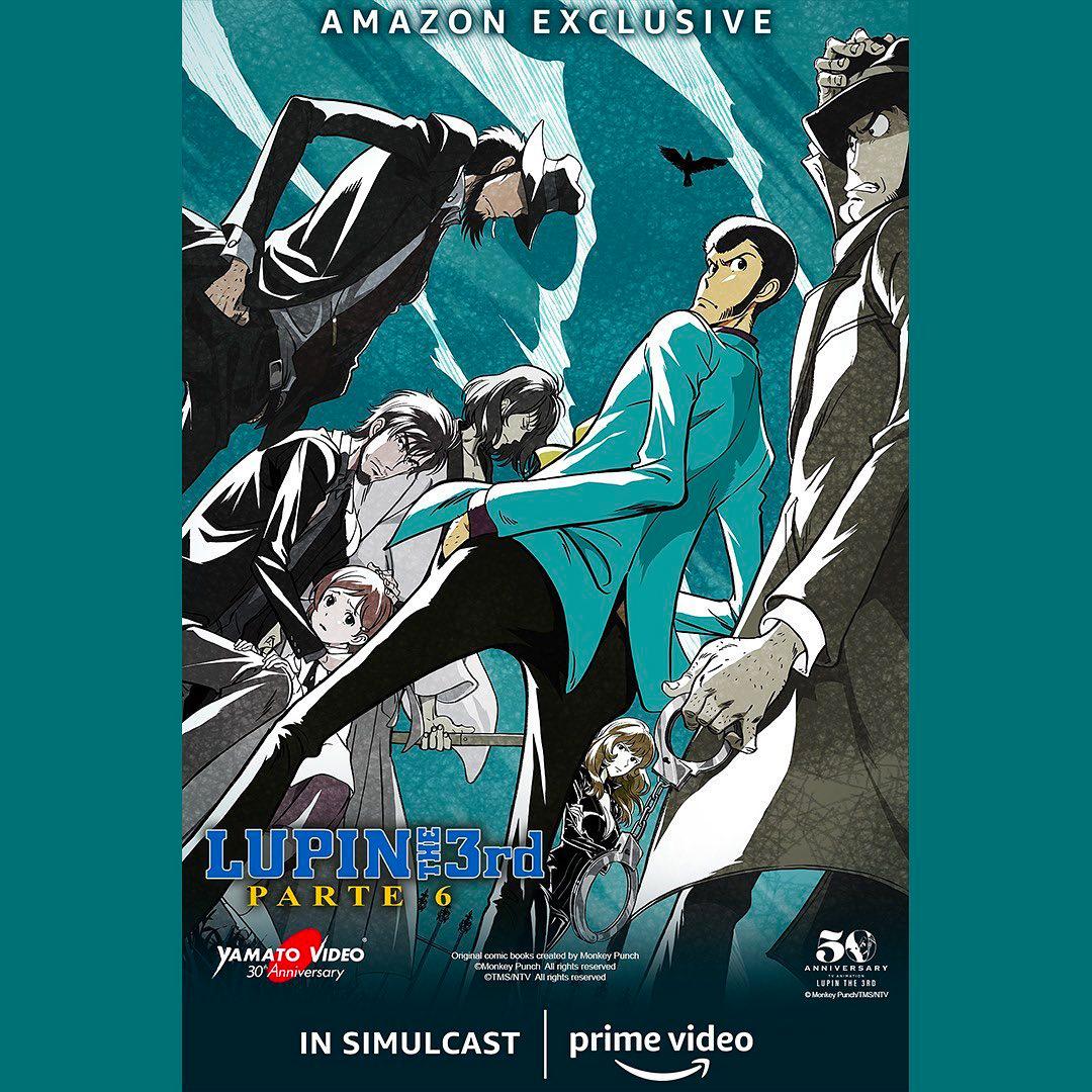 LUPIN III Parte 6 arriva in simulcast grazie a Yamato Video