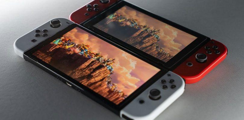 Nintendo Switch OLED: 20 giochi a confronto con il modello base