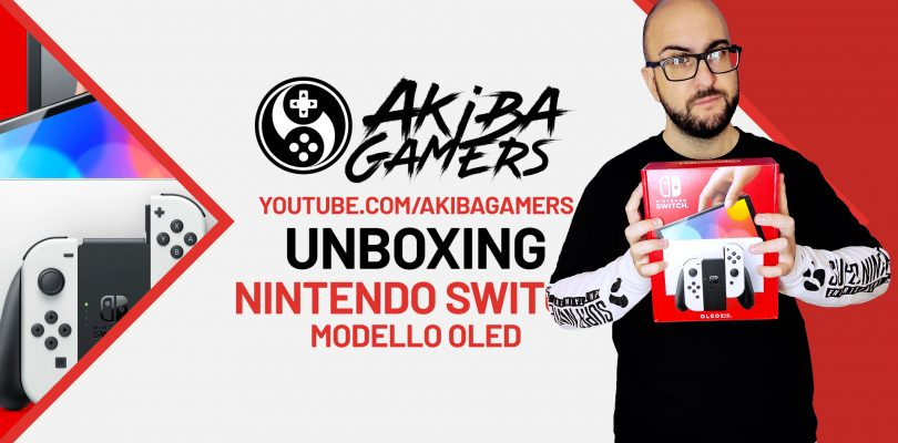 VIDEO Unboxing – Nintendo Switch OLED