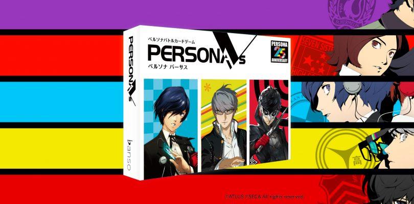 PERSONA VS: un Card Game annunciato per il Giappone